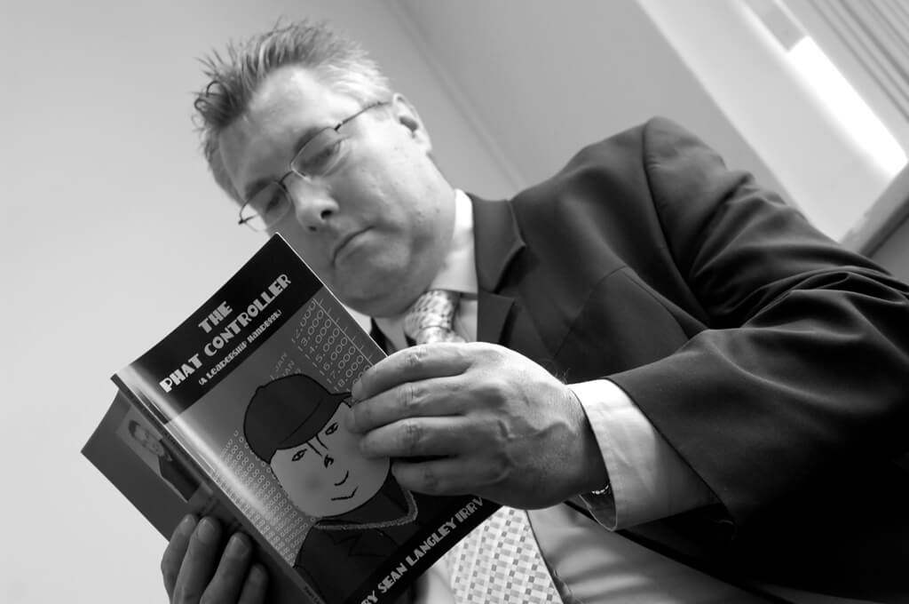 Sean Langley and The Phat Controller Book Greyscale
