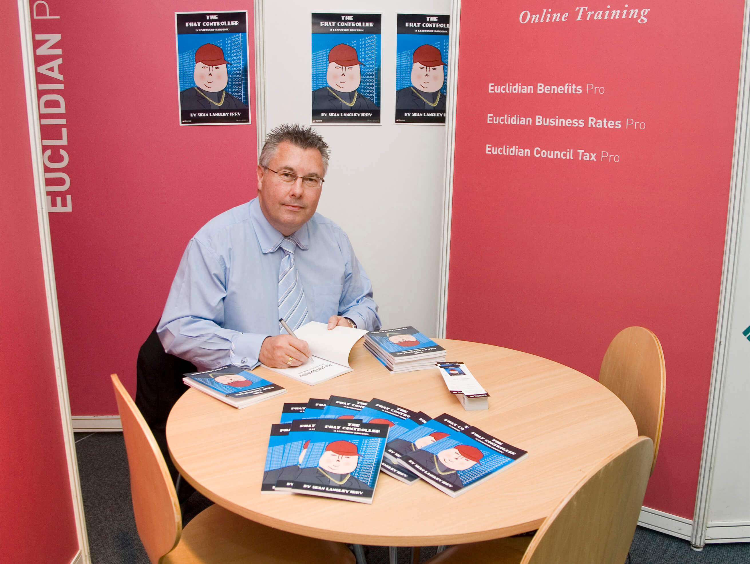 Sean Langley at The Phat Controller Book Signing